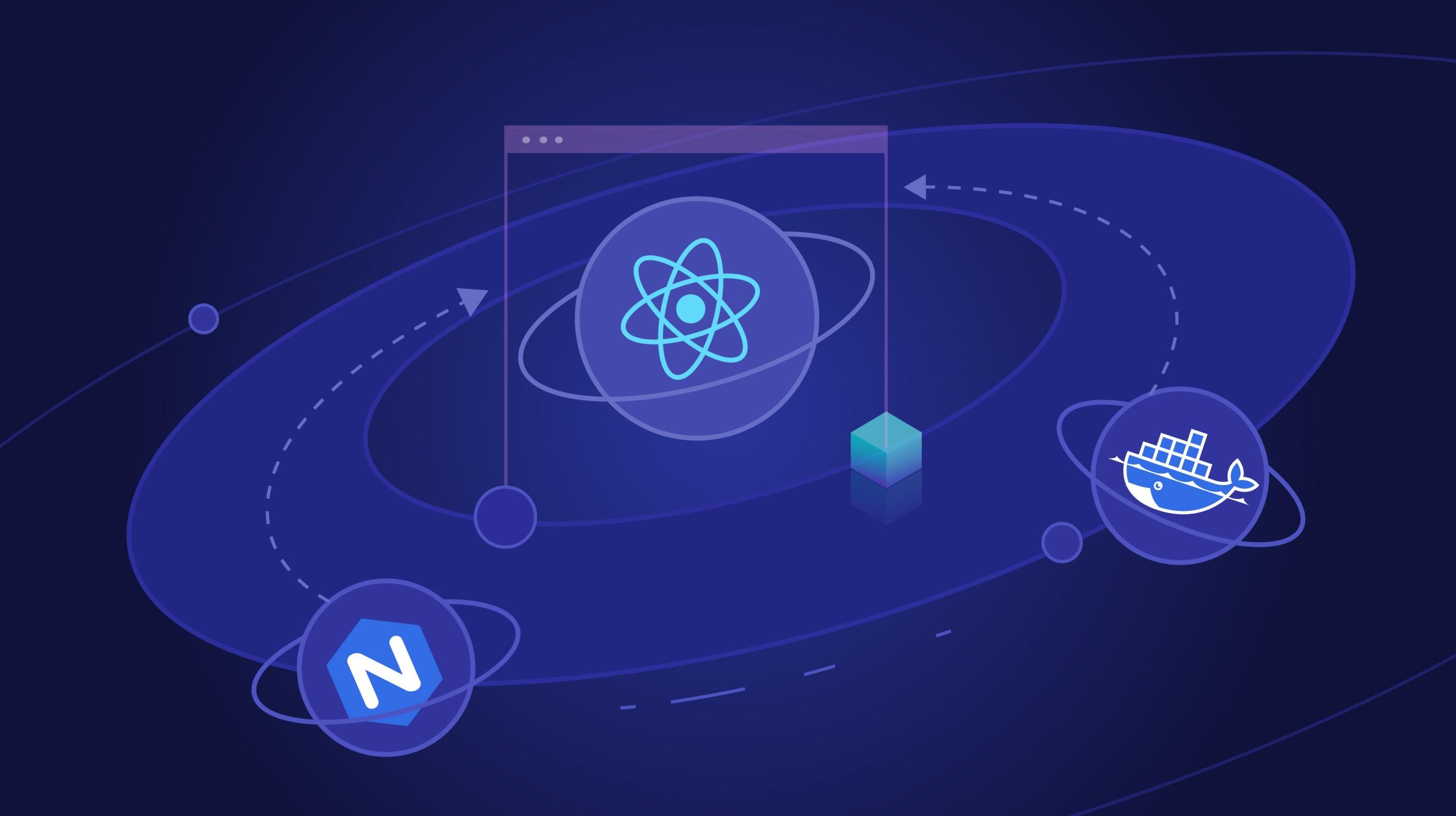چگونه یک برنامه React را با NGINX و داکر سرویسدهی کنیم؟